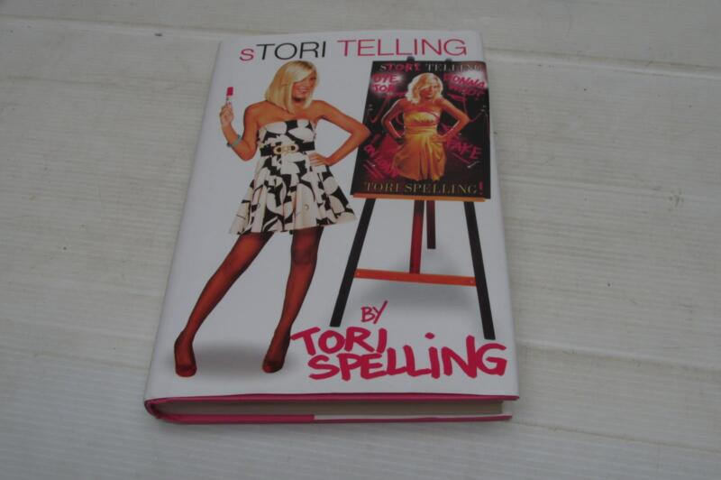 Stori Telling by Tori Spelling (2008, Hardcover)Dust Jacket
