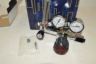 Chiyoda Seiki Ghn-1 He W22-14 Bottle Nitrogen Gas Pressure Regulator