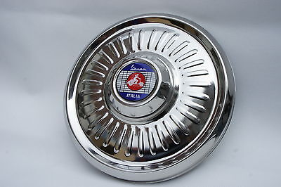 "VESPA Super VBB Sportique 8"" Stainless Steel Spare Wheel Cover Trim"