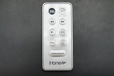 Remote Control iHome 2GO iH80 PORTABLE Docking SPEAKER ipod iPhone Go Portable Ipod