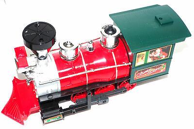 MINT LOCOMOTIVE from SANTA EXPRESS Christmas Train Set EZTEC - BATTERY OPERATED