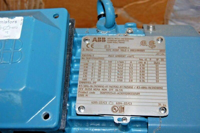 ABB IEC60034-1MOTOR