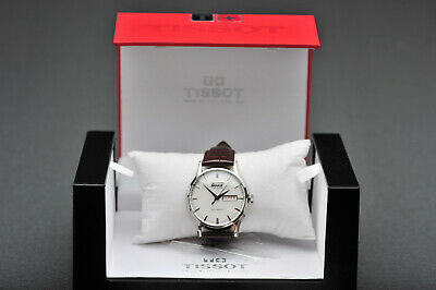 Tissot Visodate Automatic Brown Leather Strap 40mm