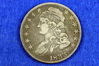 Estate Find 1833 Capped Bust Half Dollar  #D11061