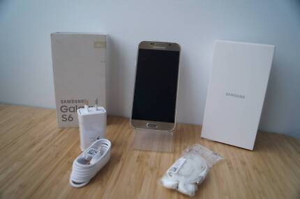 LIKE NEW Samsung Galaxy S6 SM-G920I - 32GB - Gold Platinum