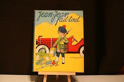 ANCIENNE BD JEAN-JEAN FAIT-TOUT 1938 .