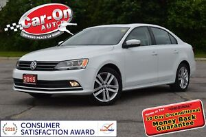 2015 Volkswagen Jetta 1.8 TSI Highline LEATHER ROOF HTD SEATS RE
