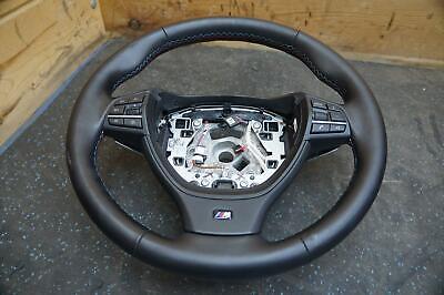 M Sport Steering Wheel Black 32337845945 OEM BMW M5 528 535 550 F10 12-16