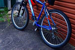 blue mountain bicycle in perfect condition Waratah West Newcastle Area Preview
