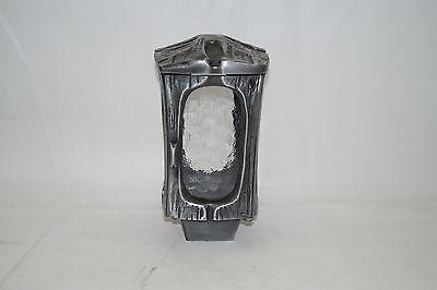Grablampe, Grablaterne, Grableuchte, Grablicht  aus Aluminium
