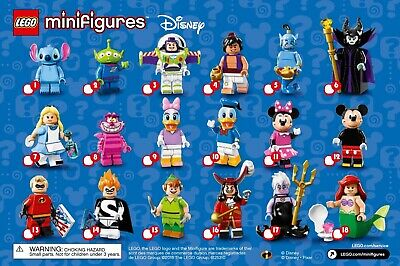 Lego Disney Collectible Minifigure Series 1