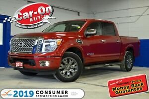 2017 Nissan Titan PLATINUM RESERVE 4X4 LEATHER NAV LOADED