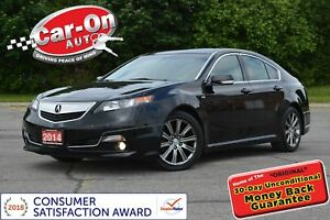 2014 Acura TL A-Spec V6 LEATHER SUNROOF HTD SEATS ALLOYS LOADED
