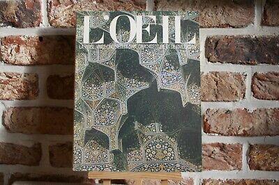 REVUE L'ŒIL N° 199-200  JUILLET-AOÛT 1971 .