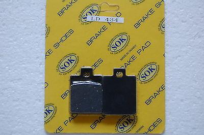 FRONT BRAKE PADS fit PIAGGIO VESPA LX LXV 50 125 150, 05-13 LX50 LX125 LX150
