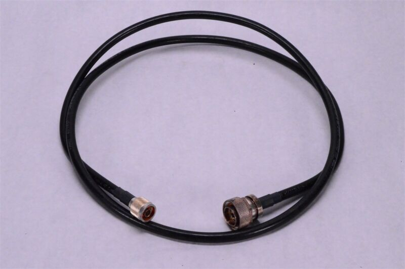 Microwave Systems N Connector LMR-400 Coaxial Cable 68999 PH