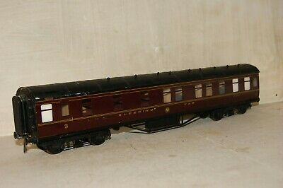 7mm FINESCALE O gauge KITBUILT 1st 3rd Sleeping Car Coach LMS Maroon Livery  for sale  Shipping to Ireland