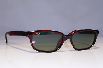 RAY-BAN Mens Vintage 1990 Sunglasses Brown Rectangle W2945 BAUSCH LOMB 23804