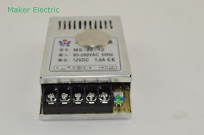 Small Size Smps Switching Power Supply 48v 0.4a Ms-20-48 From Maker Electric