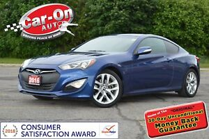 2016 Hyundai Genesis Coupe 3.8 PREMIUM AUTO LEATHER NAV ROOF HTD