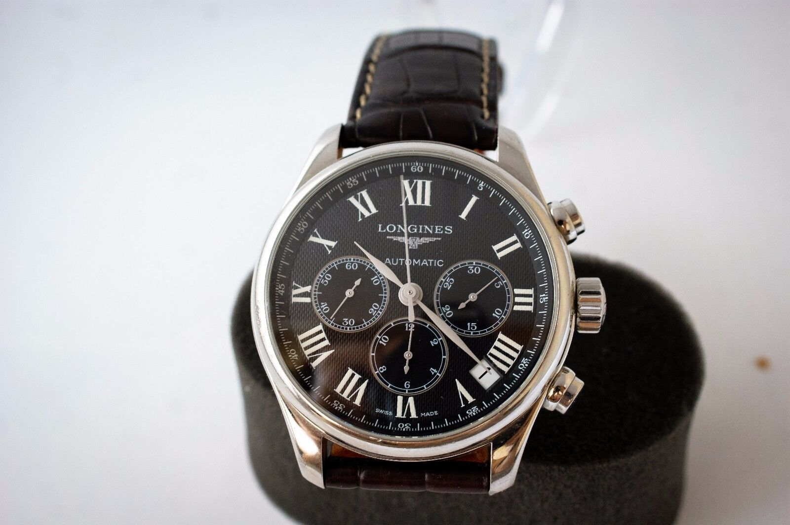 The LONGINES MASTER Collection Chronograph Automatic L.696.2 Wristwatch Date - watch picture 1