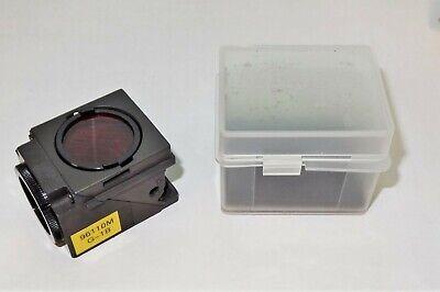 Nikon Green G-1b Fluorescent Microscope Filter Cube For E400 600 Te200300