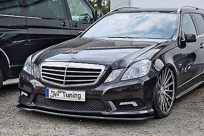 Spoilerschwert Frontspoiler Cuplippe ABS Mercedes E-Klasse AMG W212 C207 mit ABE