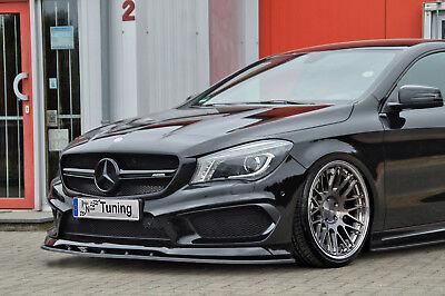 Spoilerschwert Frontspoiler ABS Mercedes CLA 45 AMG C117 Vorfacelift ABE