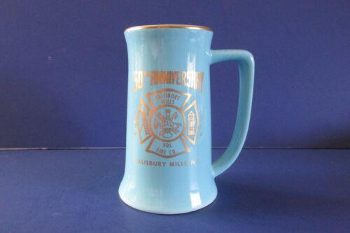 Vintage Salisbury Mills Vol Fire Co. NY 1924-1974 Cup Mug Beer Stein