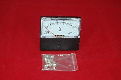 Dc 50v Analog Voltmeter Panel Voltage Meter Dc 0-50v 6070mm Directly Connect