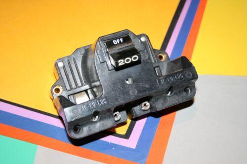 FEDERAL PACIFIC 200 AMP MAIN BREAKER TYPE 2B SAVE $$$C