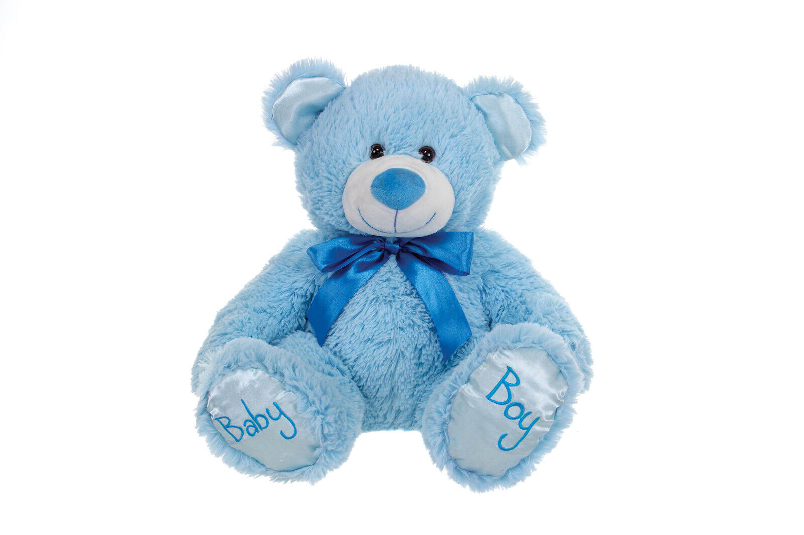 Blue Baby Toys : Brand new childs baby boy blue teddy bear plush soft
