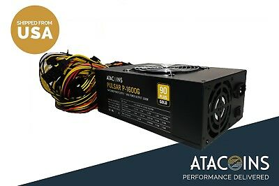 6 Graphics Card Mining Power Supply 110v - 260v Minus Corsair AX1600i Price