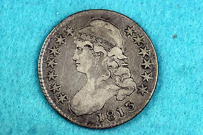 Estate Find 1813 Capped Bust Half Dollar  #D10649