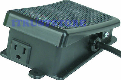 ON/OFF FOOT PEDAL CONTROL CONTROLLED ELECTRIC POWER TOOL SWITCH - Off Foot Pedal