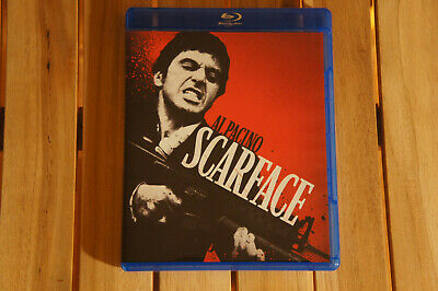 SCARFACE Brian De Palma Al Pacino 1983 (Blu-ray, 2011)