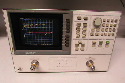Agilent Hp 8720b Network Analyzer 130 Mhz To 20 Ghz Opt 001 010