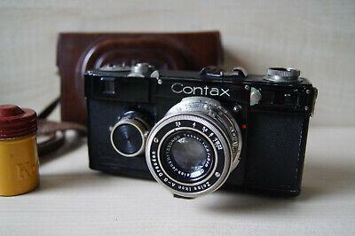 Zeiss Ikon Contax If Carl Zeiss Jena Tessar 5cm f/2.8
