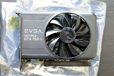 EVGA NVIDIA Geforce GTX 750 Ti, 2GB GDDR5, DVI, HDMI, DP