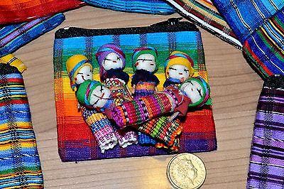 Lovely handmade worry dolls.
