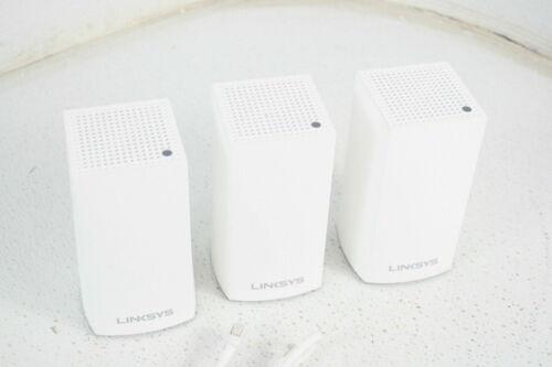 Linksys Velop Intelligent Modular Mesh WiFi System 3 Pack White AC3600 VLP01