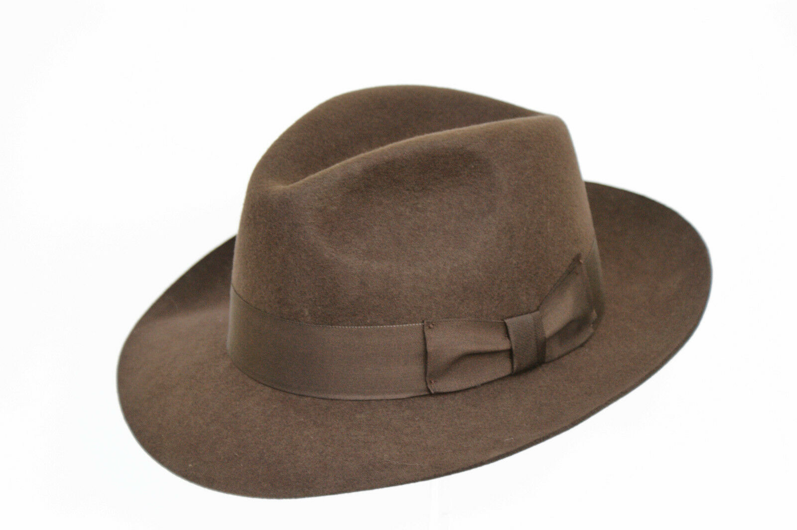 Fancet Chapeau Fedora 100 /% feutre de laine pour femme /à large bord Derby /Église Chapeau dhiver pour femme