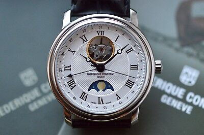 Frederique Constant Classics Moonphase Stainless Steel FC-335MC4P6