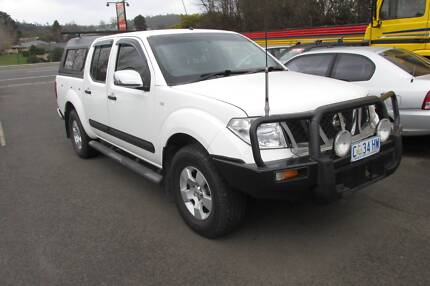 2007 Nissan Navara STX Dualcab 4x4 Ute Youngtown Launceston Area Preview
