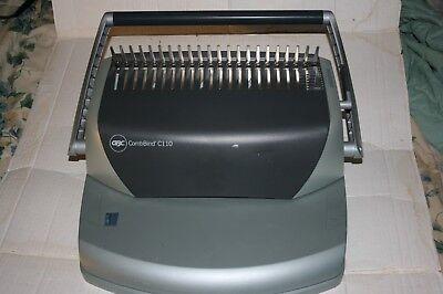 Gbc Combbind C110 Binder Bindery Punch Comb Machine
