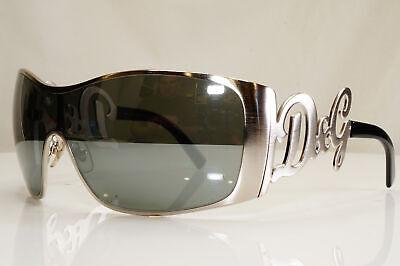 Authentic DOLCE & GABBANA Womens Vintage Sunglasses Shield D&G 6019 05/6G 28516