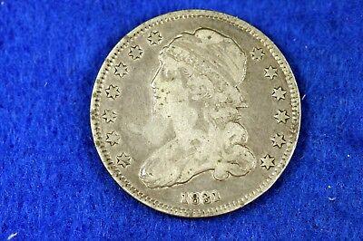 ESTATE FIND 1831 - Capped Bust Quarter Dollar!!  #H12131