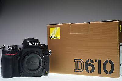 Nikon D610 24.3 MP Digital Camera Body Excellent+