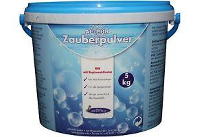AQUA CLEAN PUR Zauberpulver 5kg neu mit Hygieneaktivator