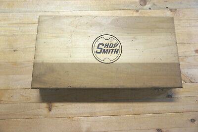 Shopsmith Mark V 14-piece Brad-point Drill Bit Set Minimally Used